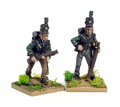 95th Riflemen Miniatures