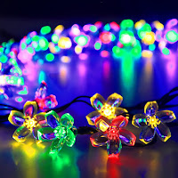 50 LED Flower Fairy Multi Color Blossom Lighting