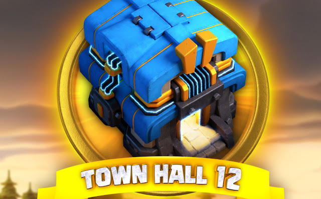 Update Terbaru Clash Of Clans Perkenal Town Hall 12