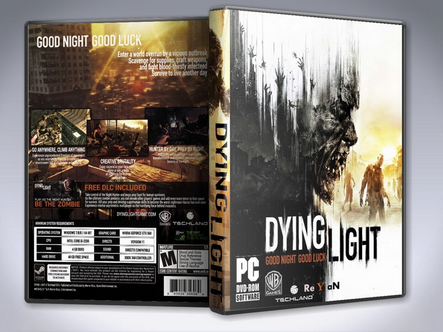 Capa Dying Light PC