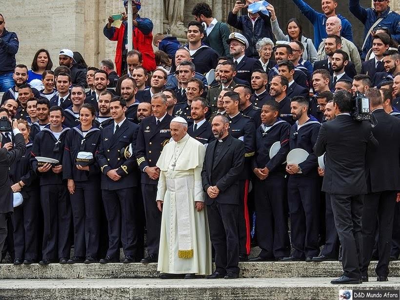 Papa Francisco em sua audiência das quartas-feiras - o que fazer no Vaticano