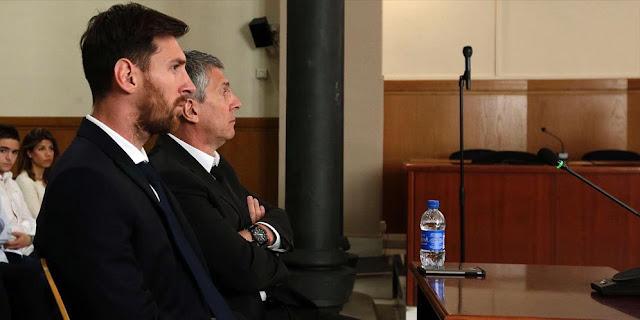 Bintang Barcelona, Lionel Messi Resmi Dihukum 21 Bulan Penjara…..