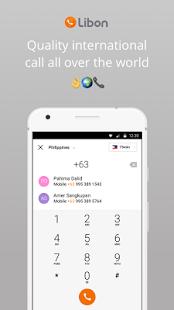 تحميل تطبيق Libon الرائع لإجراء المكلمات وإرسال الرسال