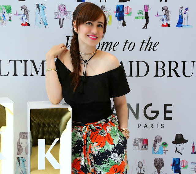 The Ultimate Braid Brunch by Kerastase at Dessange Salon, Bandra, fishtail braid, hairstyle