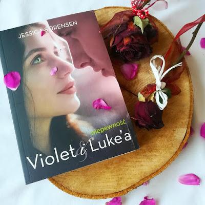 Niepewność Violet i Luke'a - Jessica Sorensen
