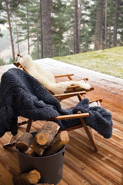 Дизайн-проекты. Скандинавская хижина посреди леса в Испании