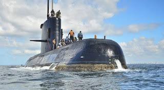 Το υποβρύχιο βρισκόταν στη νότια Θάλασσα της Αργεντινής