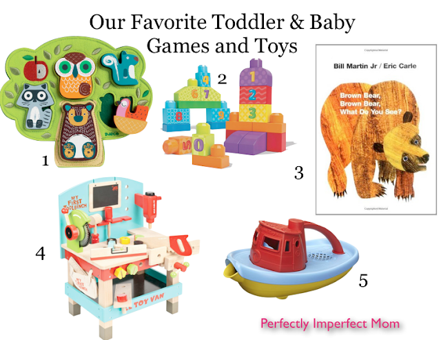 Our Favorite Toddler & Baby Games and Toys!