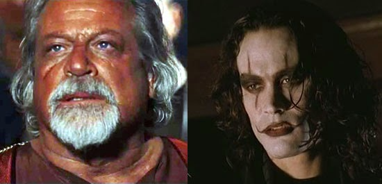 Oliver Reed e Brandon Lee recriados digitalmente