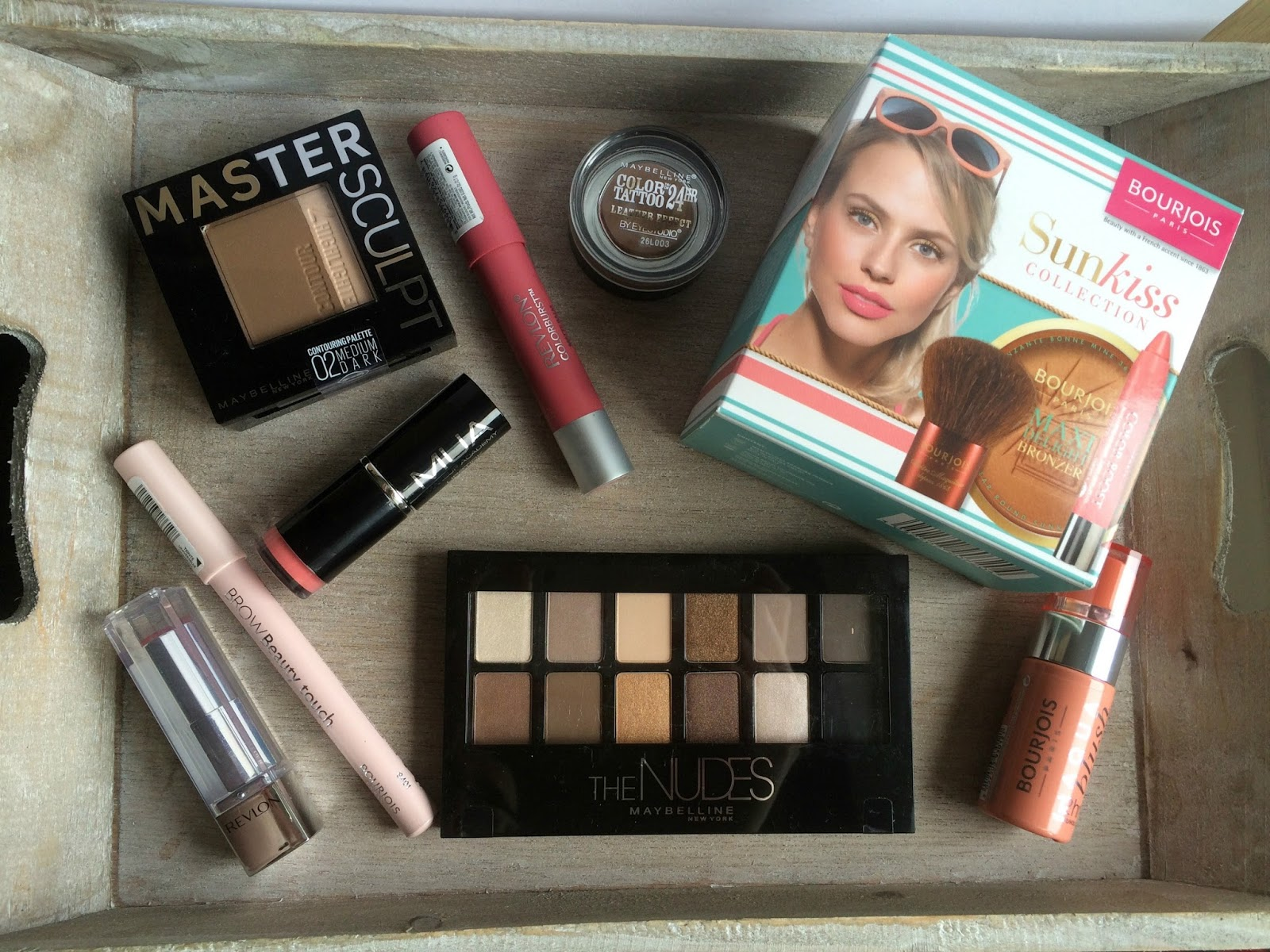 boots haul june 2015 bourjois maybelline revlon swatches