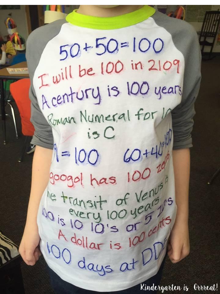 Kindergarten is grrreat 100th day of school t shirt ideas for 100th day of school decoration ideas