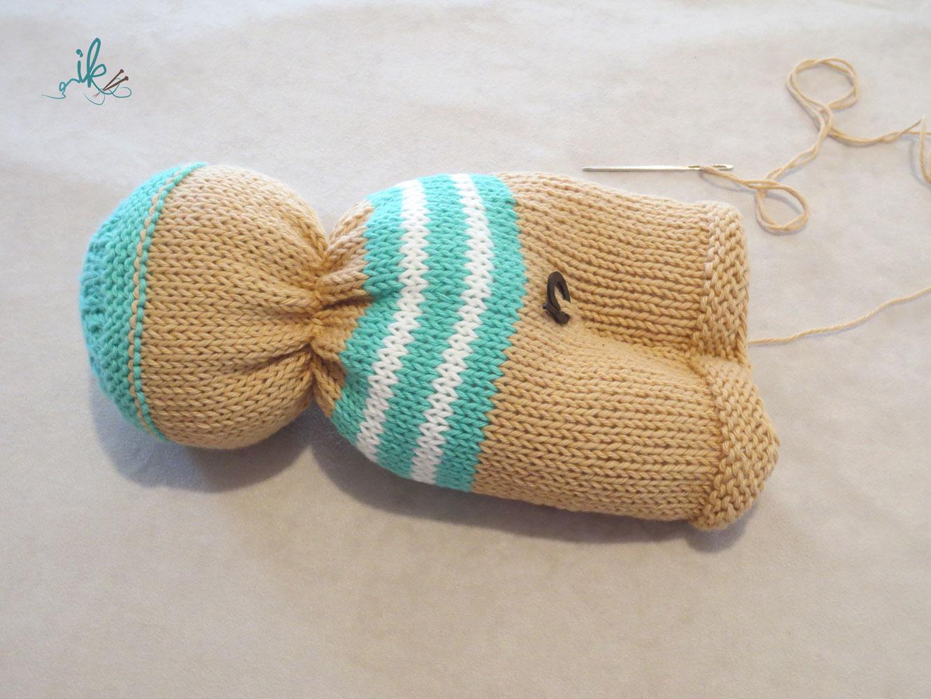 Puppe Stricken Kostenlose Strickanleitung Für Strickpuppe