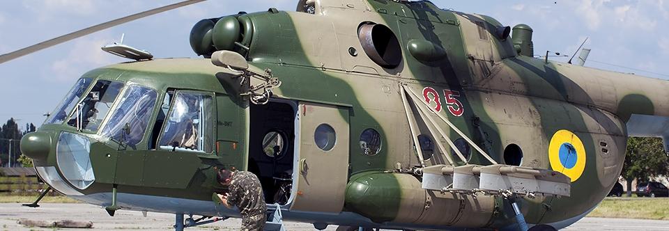 Повітряні Сили придбають комплект бронеплит для Мі-8МТ