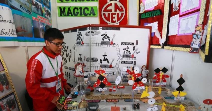 Conoce los concursos donde los escolares despliegan creatividad y talento, organizados por el Ministerio de Educación [VIDEO]