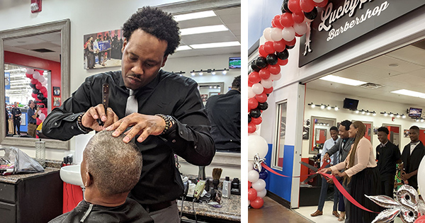 Shaun Corbett, founder of first Black-owned barbershop in Walmart