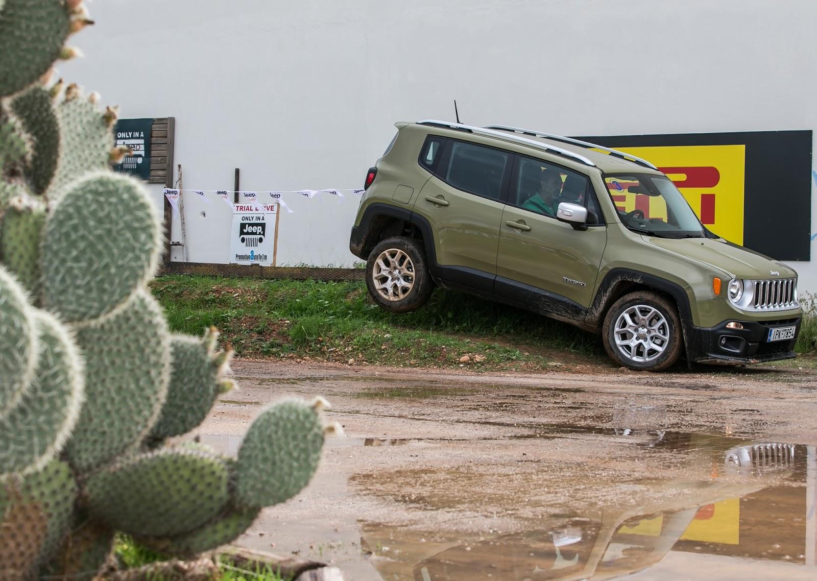 KF 1606 Πετάμε ένα Jeep Renegade σε λάσπες, πέτρες, άμμο, λίμνες. Θα τα καταφέρει;