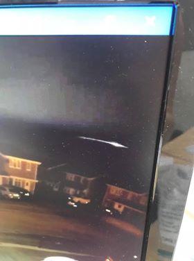 UFO caught on camera on a Ring.com CCTV Doorbell System.