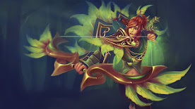 Windranger DOTA 2 Wallpaper, Fondo, Loading Screen