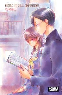 """Manga: Reseña de """"Nuestras preciosas conversaciones #3"""" de Robico - Norma Editorial"""