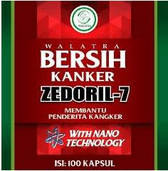 Walatra Zedoril 7 Bersih Kanker