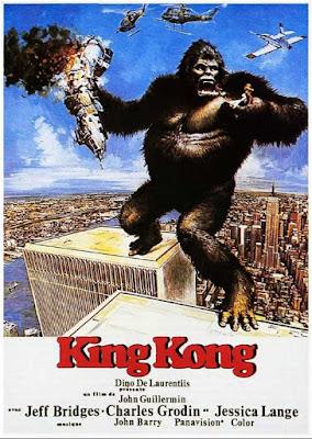 King Kong 1976, Dino de Laurentiis, John Guillermin, Jeff Bridges, Jessica Lange