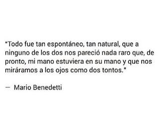 Fragmento de Gracias por el fuego de Mario Benedetti