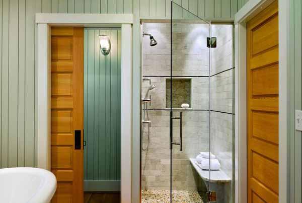 Gambar pintu kaca kamar mandi  Desain Kamar Mandi