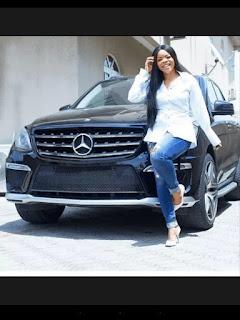 Laura Ikeji Gets A New Ride