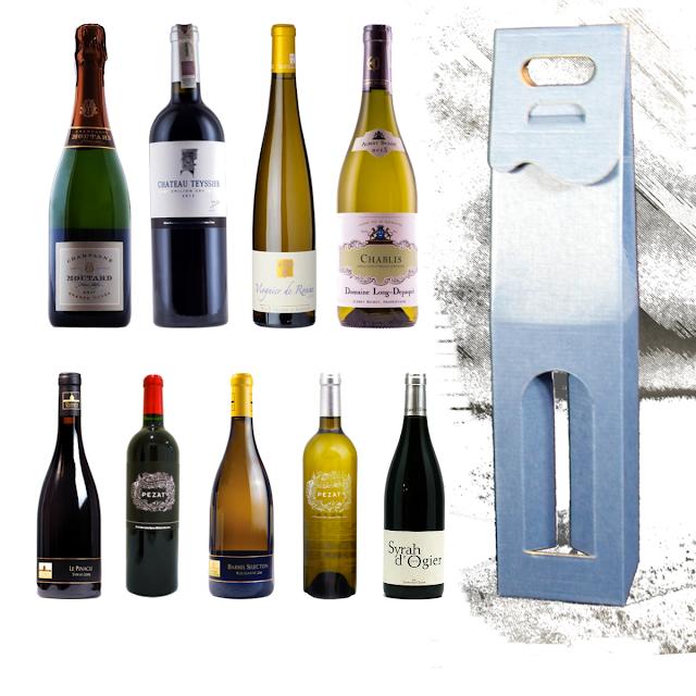 Opakowanie na wino francuskie