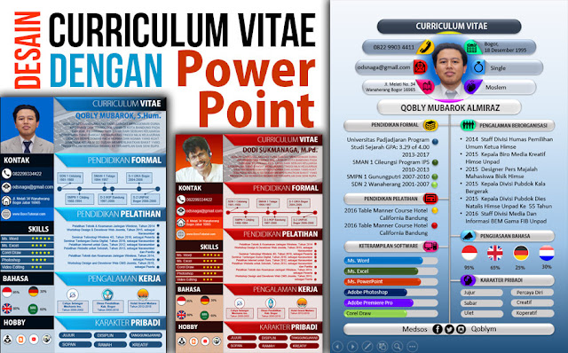 Cara Membuat CV yang Lebih Menarik dengan PowerPoint