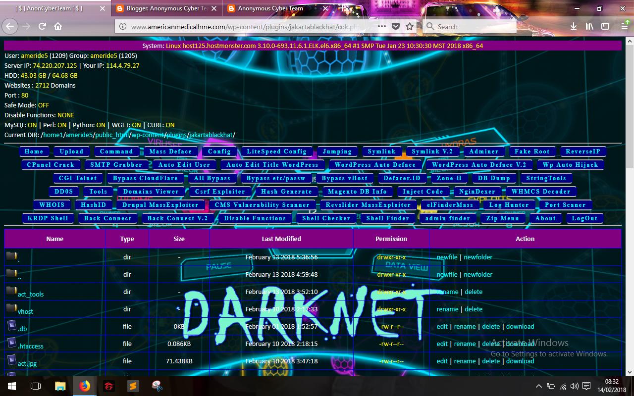 AnonCyberTeam Shell Backdoor V 2 - Anon Cyber Team   Komunitas IT