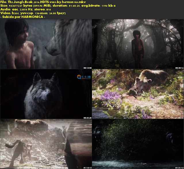 Descargar The Jungle Book Subtitulado por MEGA.
