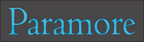 paramore logo 2017 font - photo #18