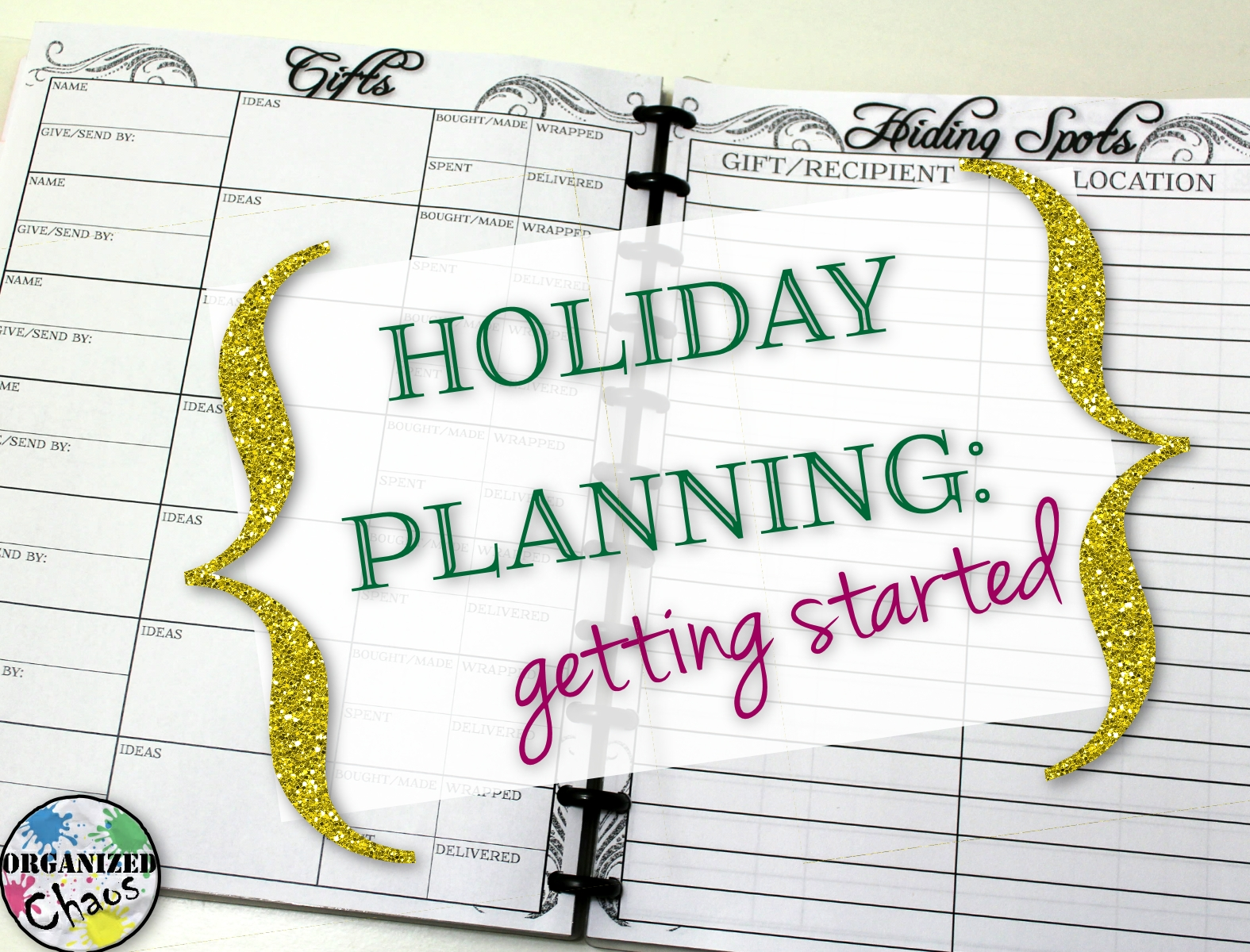Mommy Monday: holiday planning- Christmas in July! | Organized Chaos