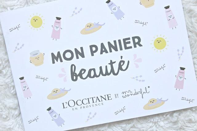 l'occitane boekje my beauty basket mon panier beauté