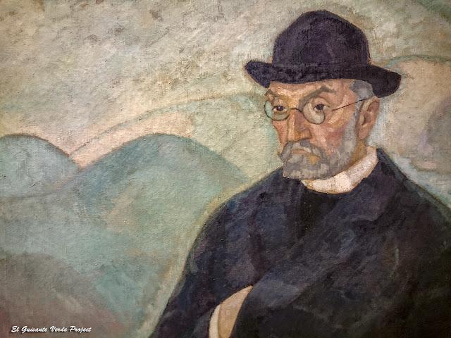 Retrato de don Miguel de Unamuno, Daniel Vázquez Díaz - Museo Bilbao por EGVP