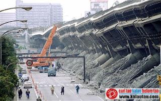 kalautau.com - Proses Terjadinya Gempa Bumi