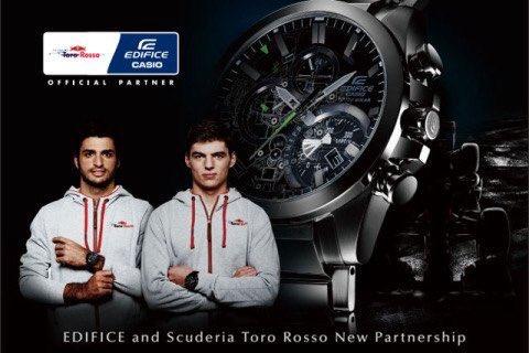 Casio nuevo patrocinador oficial de Toro Rosso