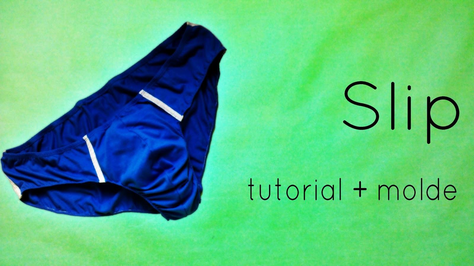 DIY: Slip, calzoncillo, tanga o ropa interior para hombre - Coser es ...