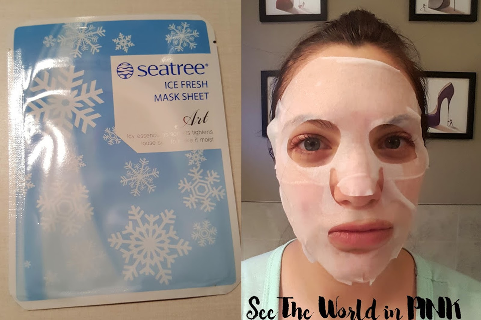 seatree ice fresh mask sheet