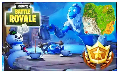 Fortnite Hidden Loading Screen Week 5 Mystery Battle Star Delineate