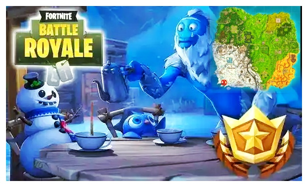 fortnite fans can open a shrouded battle star by finishing the majority of the season 7 for season 7 which implies there s a fresh out of the plastic new - fortnite season 9 week 5 secret battle star