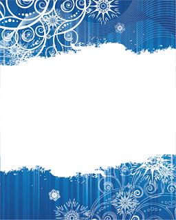 copos de nieve para felicitacion de navidad