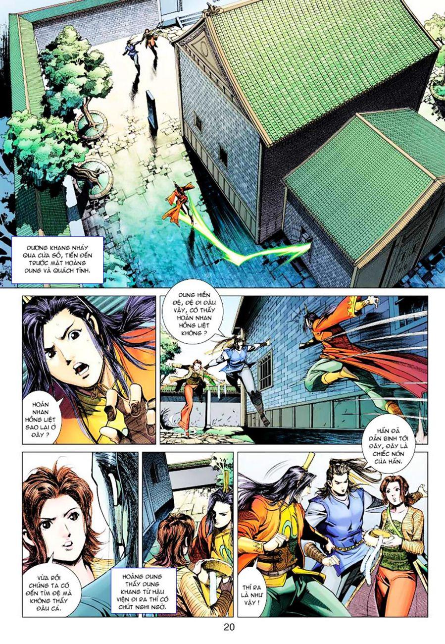 Anh Hùng Xạ Điêu anh hùng xạ đêu chap 38 trang 19