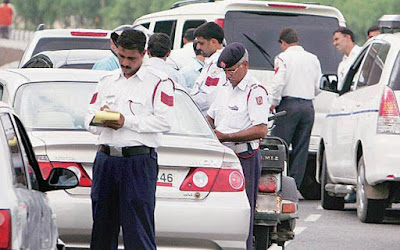 Uttar Pradesh Traffic Police Challan Rate List