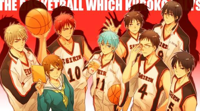 Kuroko no basket - Daftar Anime Sport terbaik Sepanjang Masa