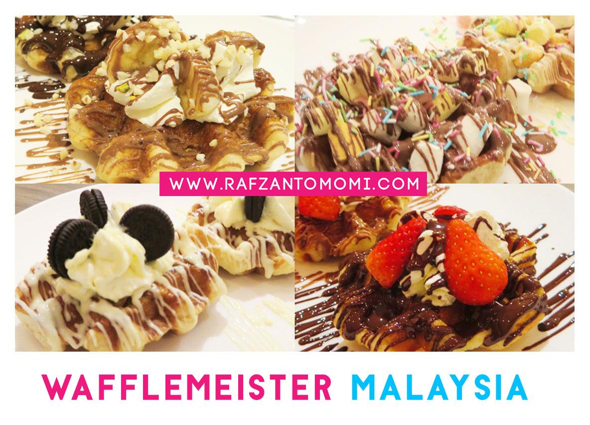 Wafflemeister Malaysia - Kemanisan Waffle Coklat Belgium Dalam Mulut Anda!