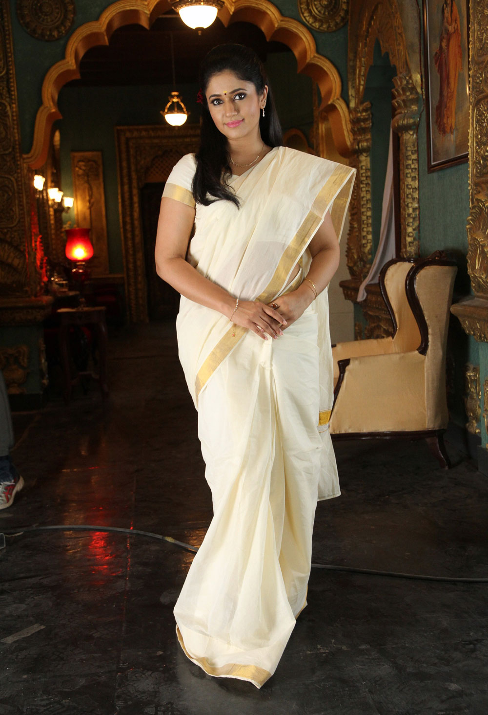 Poonam Bajwa Latest Stills In White Saree