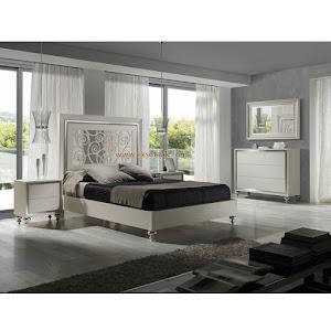 Tempat Tidur Jati Minimalis Set Seri Elegie