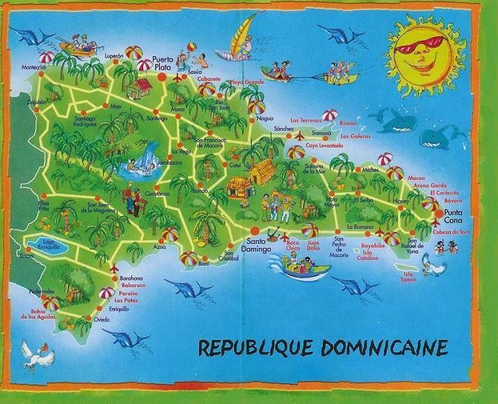 ilha saona mapa Dicas para Viagem à Punta Cana!: Um pouco sobre Punta Cana ilha saona mapa